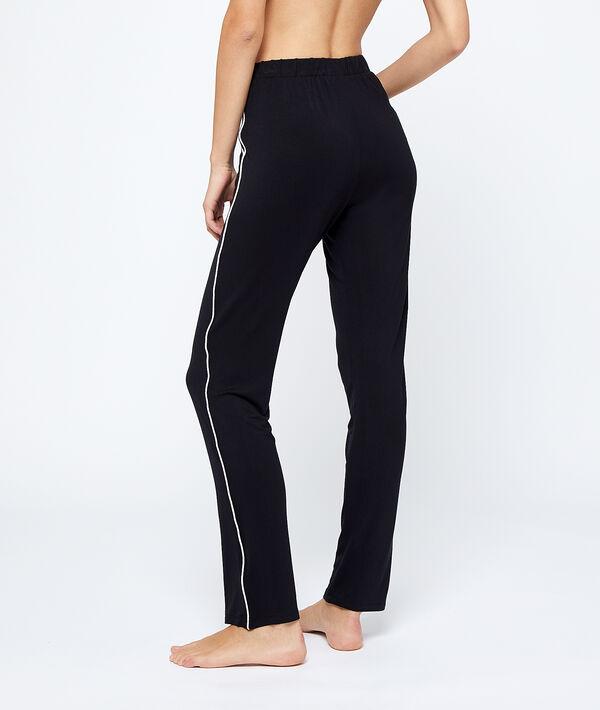 Pantalón pijama franjas laterales