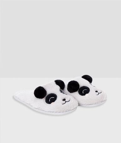 Zapatillas osos panda c.gris.