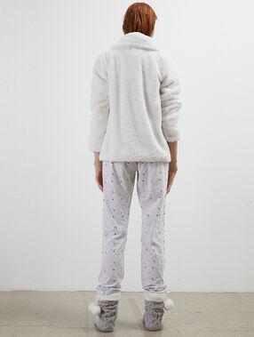 Pijama 3 piezas dream crudo.