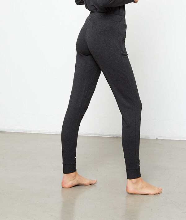 Pantalón jaspeado