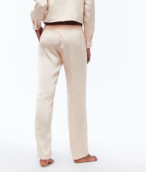 Pantalón pijama satén