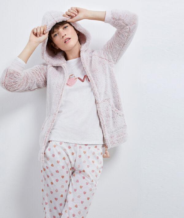 Pijama tres piezas 'love'