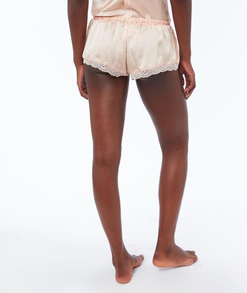 Pantalón corto satén