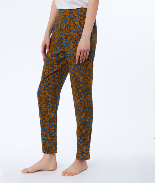 Pantalón estampado étnico