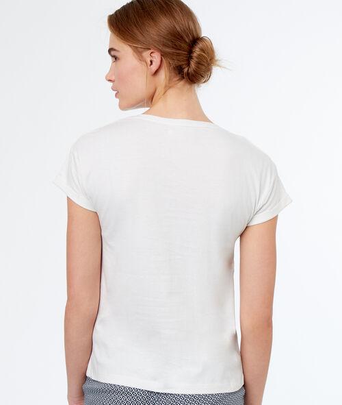 Camiseta estampado áncora