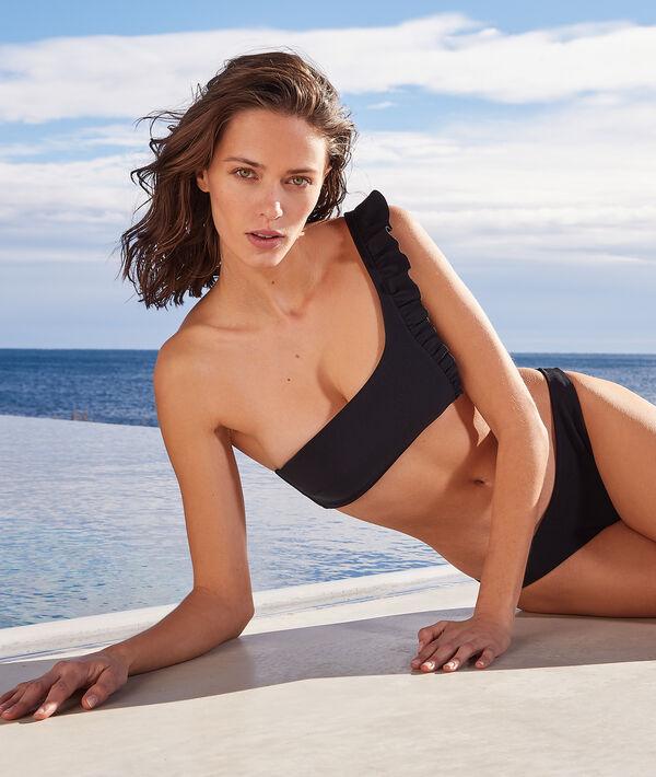 Top bikini asimétrico sin aros;${refinementColor}