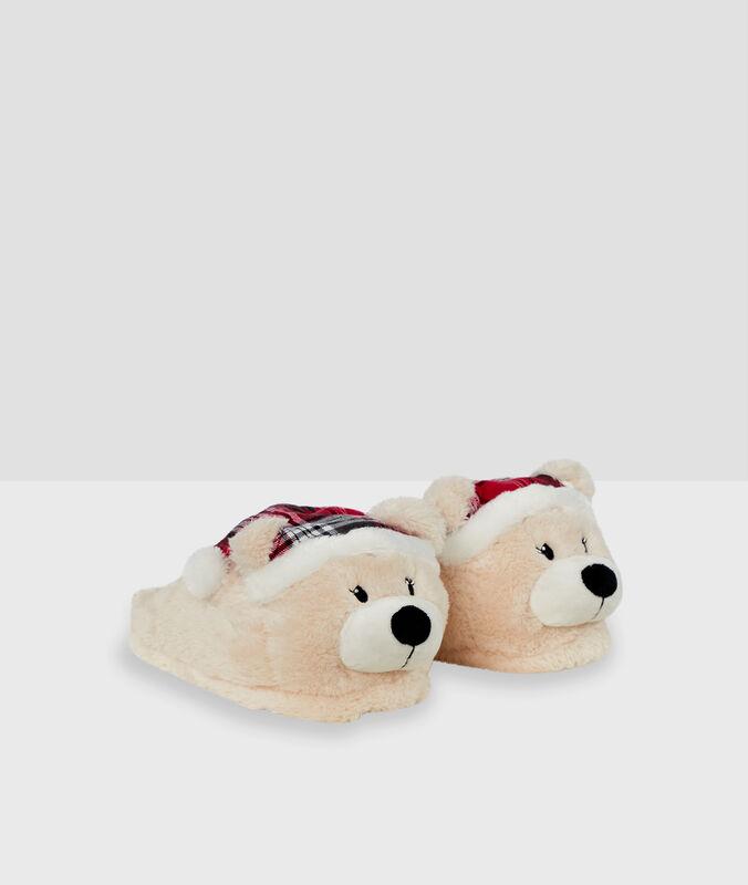 Zapatillas destalonadas osos c.beige.