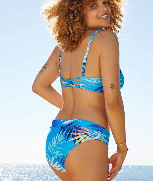 Sujetador bikini con foam estampado. Copa C-E;${refinementColor}