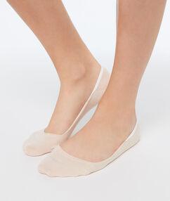 Mini calcetines melocotón.