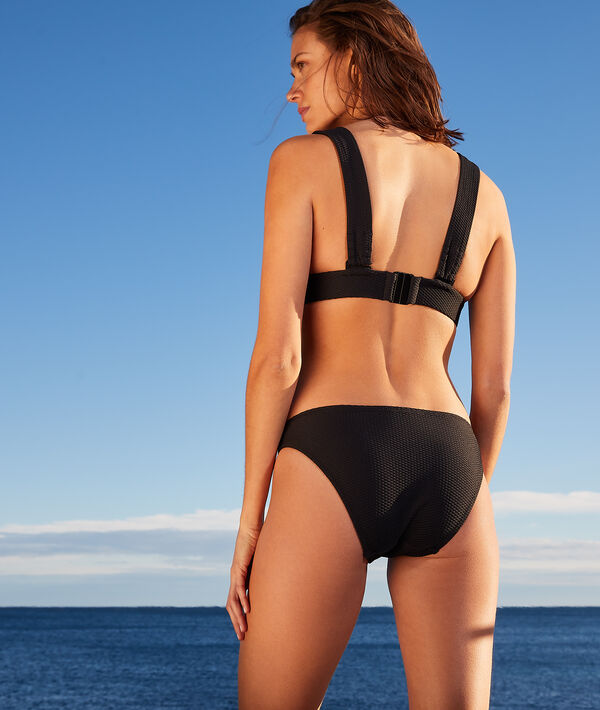 Braguita bikini, tejido relieve;${refinementColor}