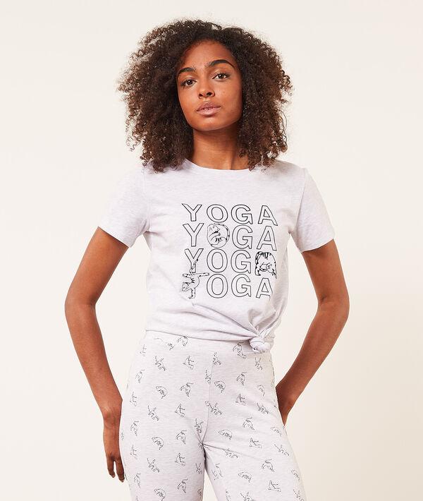 Camiseta manga corta 'yoga';${refinementColor}