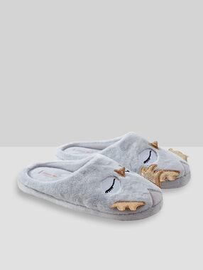 Zapatillas búho c.gris.