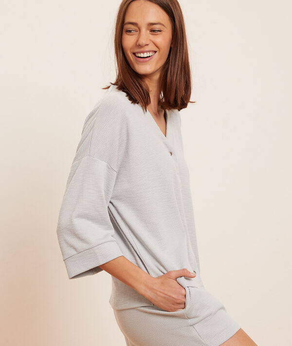 Camisa pijama manga corta;${refinementColor}