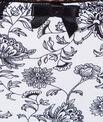 Braguita de microfibra y encaje con estampado floral
