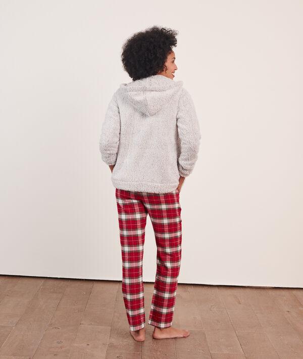 Pijama 3 piezas 'cosy, chaqueta forro polar;${refinementColor}