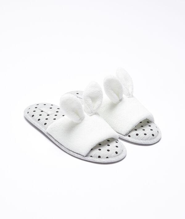 Zapatillas orejas conejito