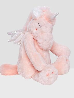 Guarda-pijama unicornio rosa.