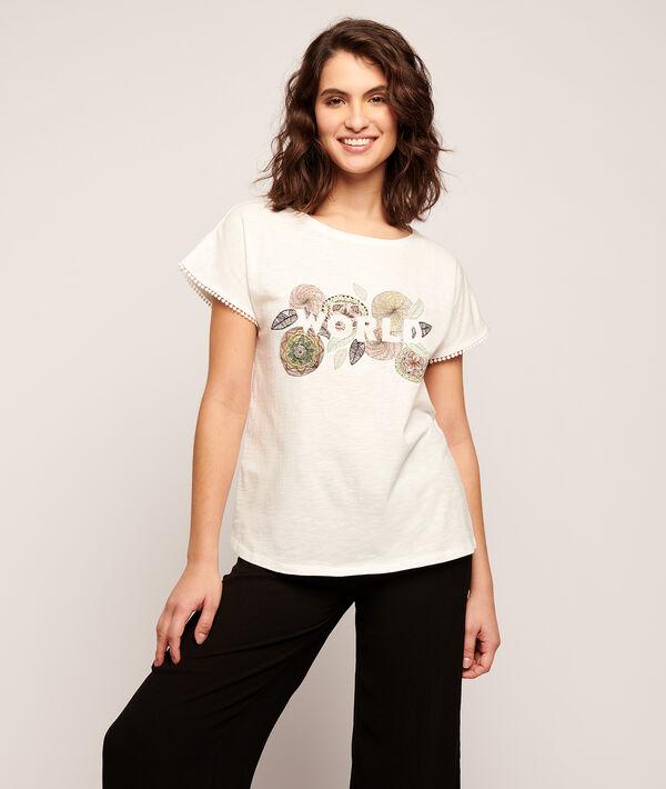 Camiseta estampada rosas 'world';${refinementColor}
