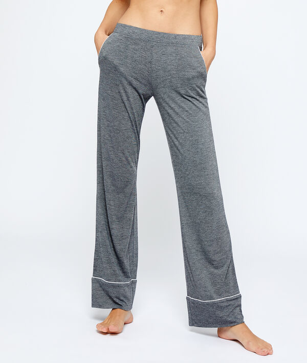 Pantalón largo liso