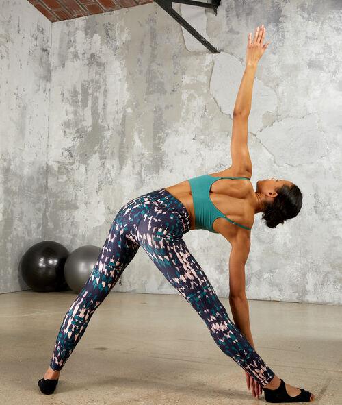 Leggings de yoga, talle medio alto