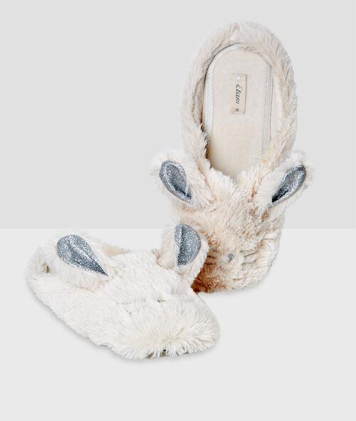 Zapatillas destalonadas conejos