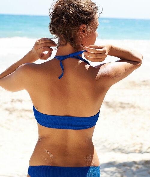Sujetador bikini tirantes extraíbles, suave relieve