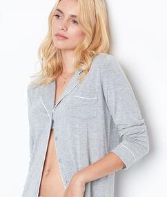 Camisa pijama c.gris claro.