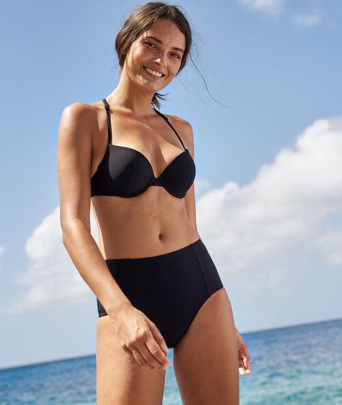 Sujetador bikini push up. Copa B