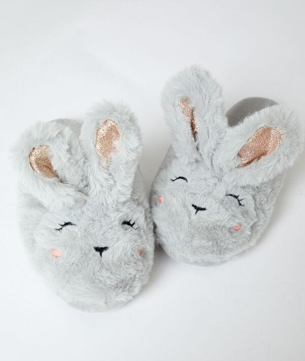 Zapatillas destalonadas conejo;${refinementColor}