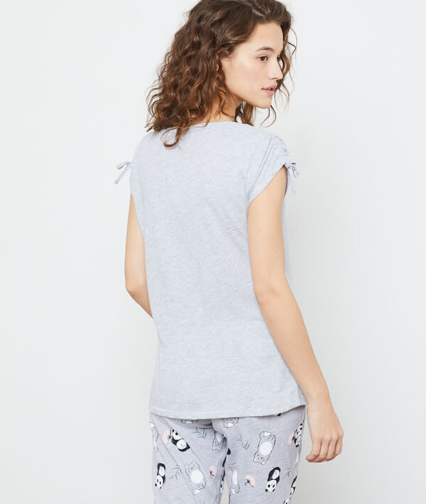 Camiseta manga corta 'panda cool'