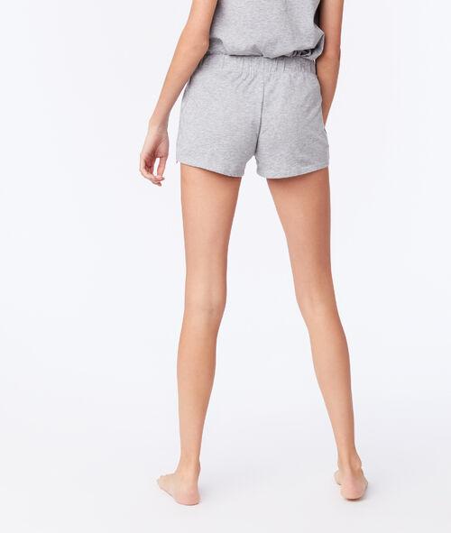 Pantalón corto tipo pareo