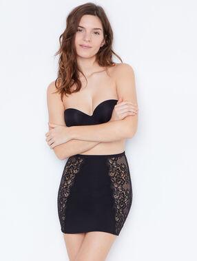 Falda moldeadora negro.