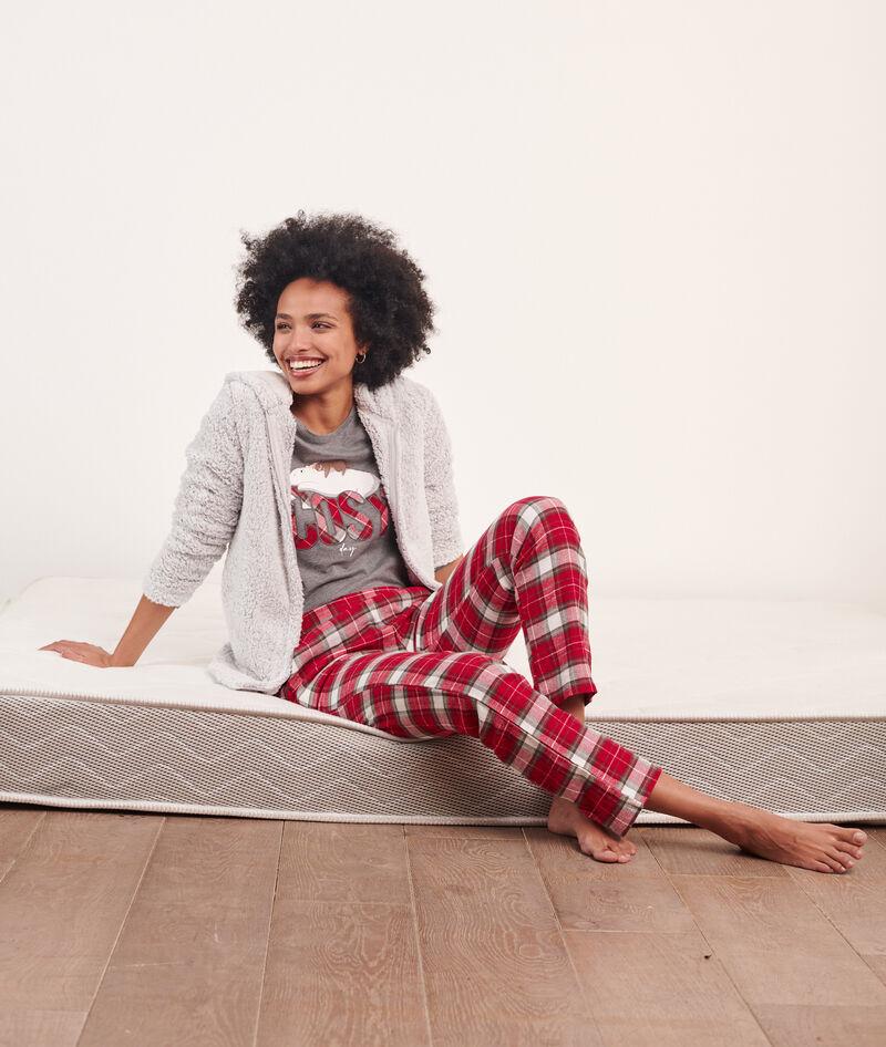 Pijama 3 piezas 'cosy, chaqueta forro polar