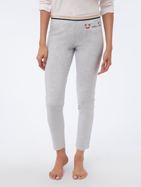 Pantalón motivos superheroes c.gris.