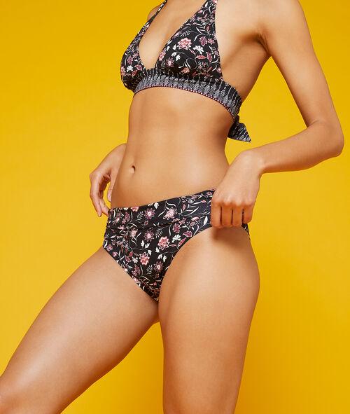 Braguita bikini multiposición estampado floral