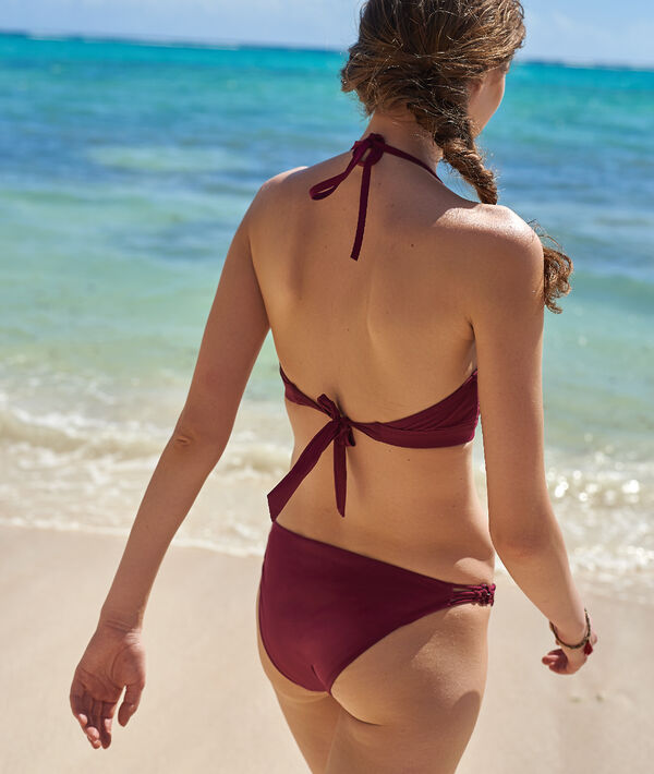 Braguita bikini con tirantes cruzados