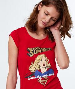 Camiseta super girl rojo.