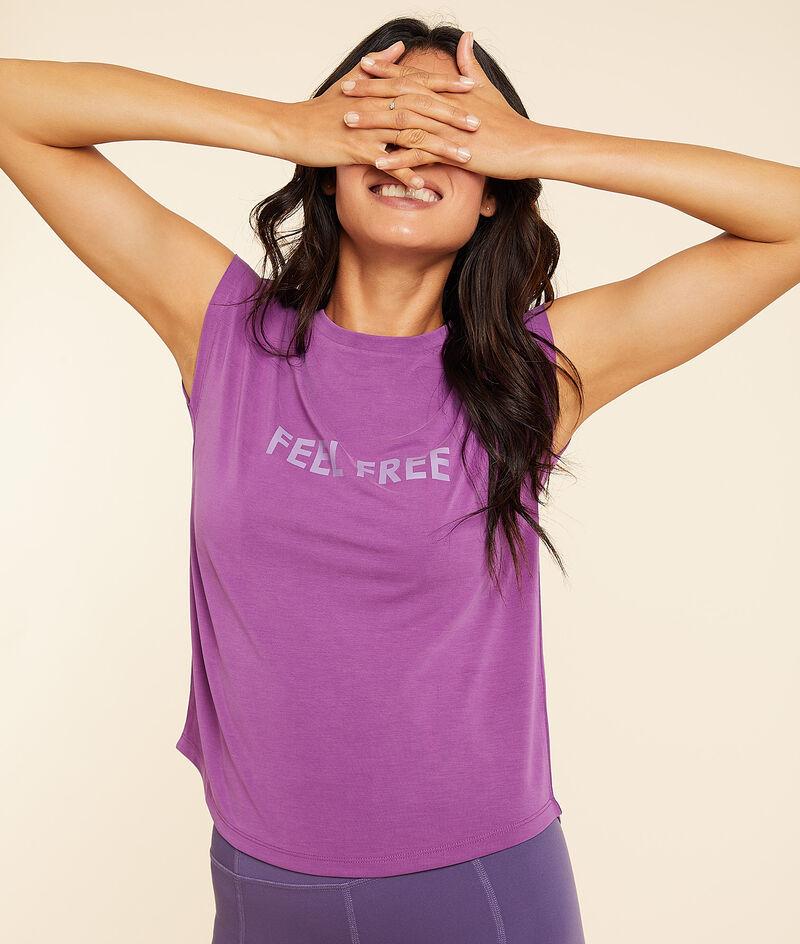 Camiseta manga corta 'feel free';${refinementColor}
