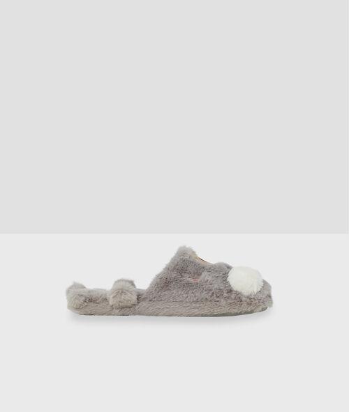 Zapatillas destalonadas osos