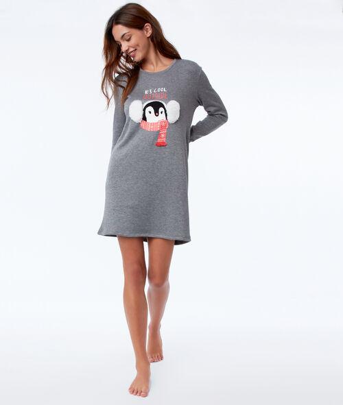 Camisón pingüino