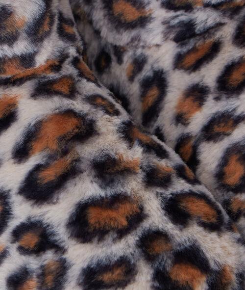 Botines forrados estampado leopardo