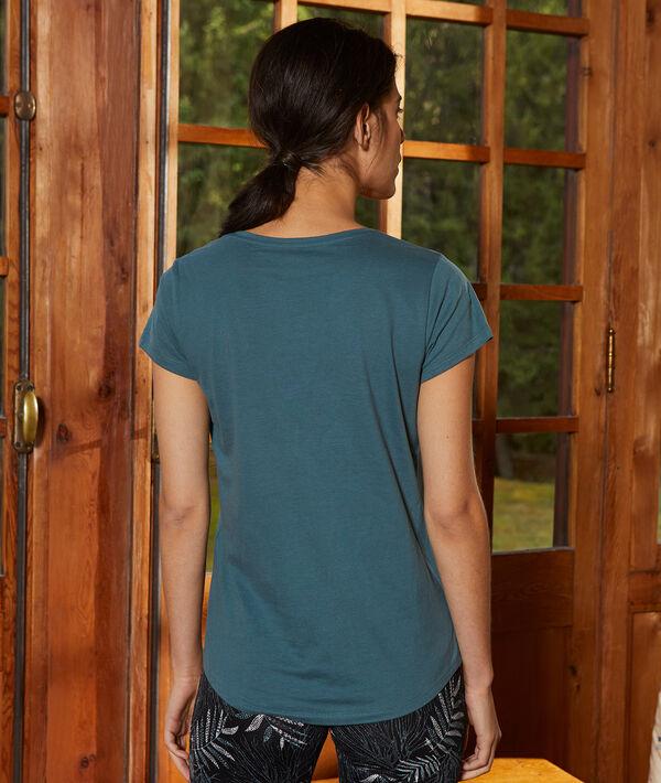 Camiseta manga corta de algodón
