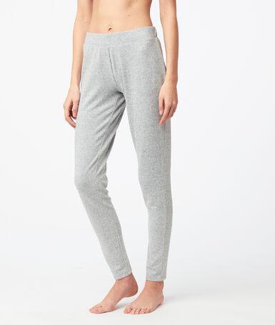 Pantalón tipo leggings jaspeado c.gris.