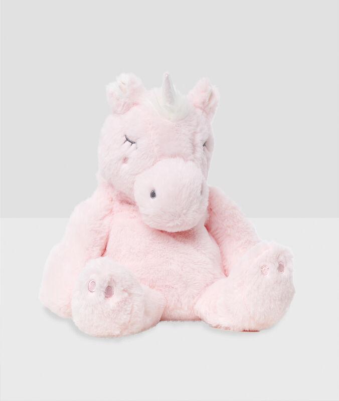 Mochila guarda-pijamas unicornio crudo.