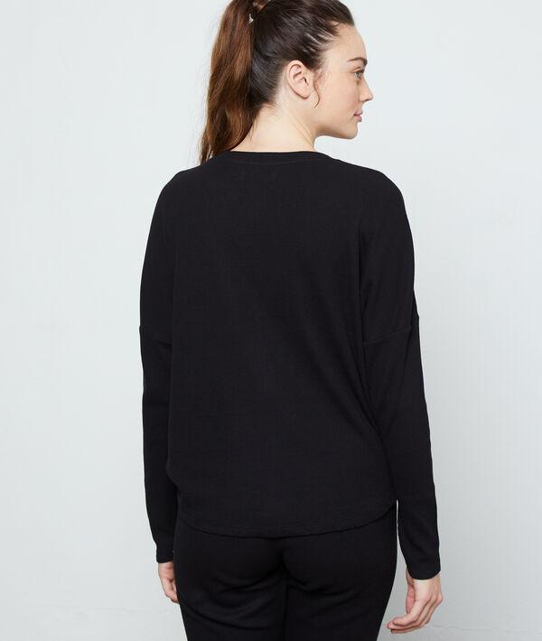 Camiseta manga larga de algodón