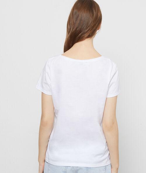 """T-shirt """"Sous le maillot"""" en coton"""
