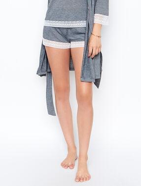 Pantalón corto liso c.gris.