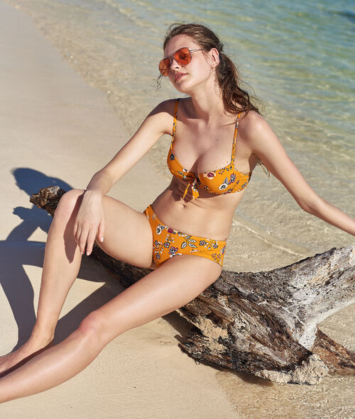 0343579705da Sujetador bikini push up estampado floral. Copa B