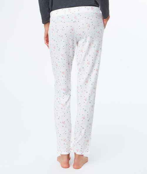Pantalón pijama estampado