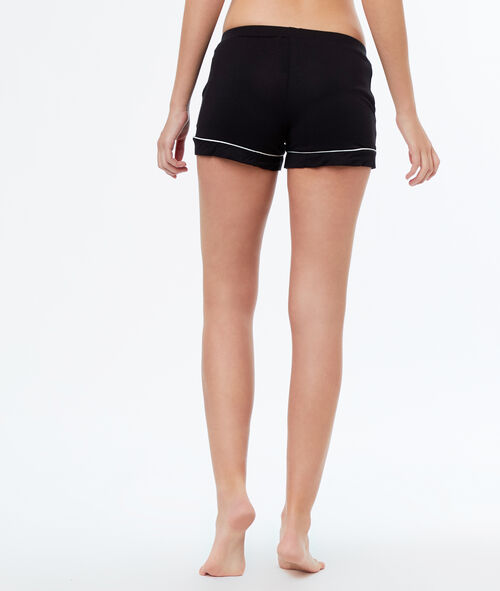 Pantalón corto bicolor